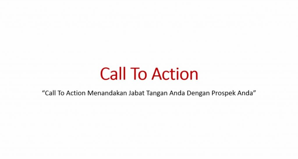 Video 3 - Call to Action