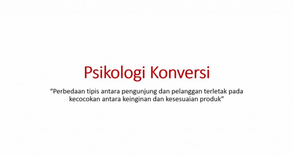 Video 7 Psikologi Konversi